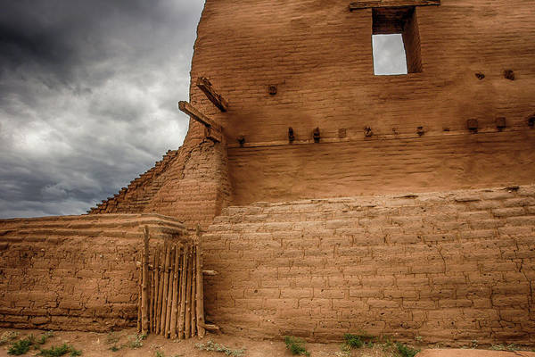New Mexico Art Print featuring the photograph Mission Ruins by Bob Helmig
