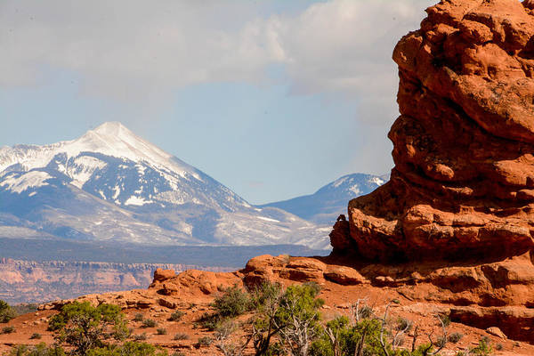 Utah Art Print featuring the photograph Moab by Trina Huston