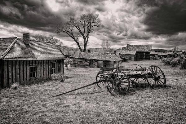 Bannack Art Print featuring the photograph Montana Ghost Town by Scott Read