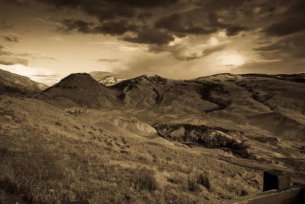 Montana Art Print featuring the photograph Montana Landscape by Patrick Flynn