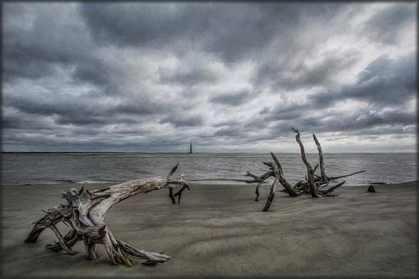 Folly Beach Art Print featuring the photograph Morris Island Lighthouse by Erika Fawcett