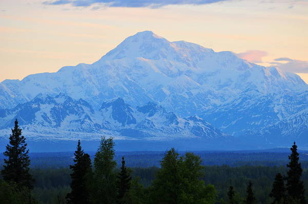 Mount Mckinley Art Print featuring the photograph Mount Mckinley by Keith Gondron