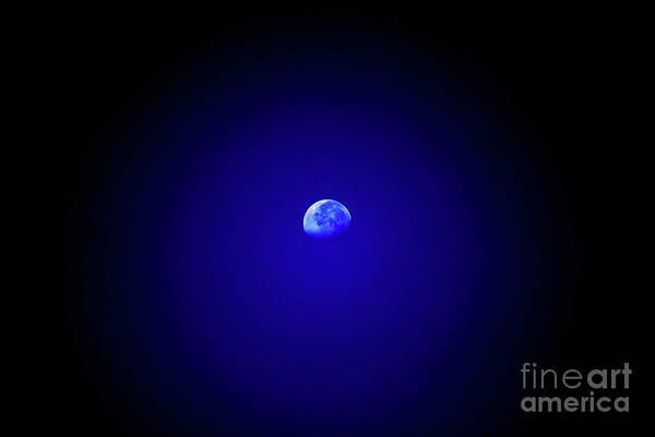 Moon Art Print featuring the photograph Mr Moon by Lori Tambakis