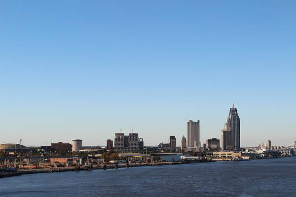 New Orleans Skyline Art Print featuring the photograph New Orleans Skyline by Robert Smith