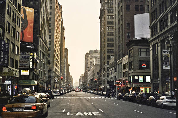 Nyc Art Print featuring the photograph New York New York by Wes Shinn