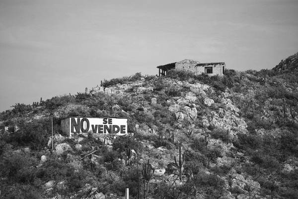 Mexico Art Print featuring the photograph No Se Vende by Robert Boyette