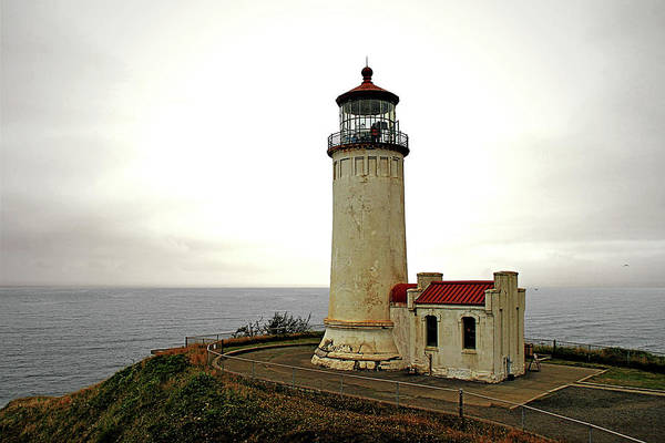 Cape Disappointment Art Print featuring the photograph North Head Lighthouse - Graveyard Of The Pacific - Ilwaco Wa by Christine Till