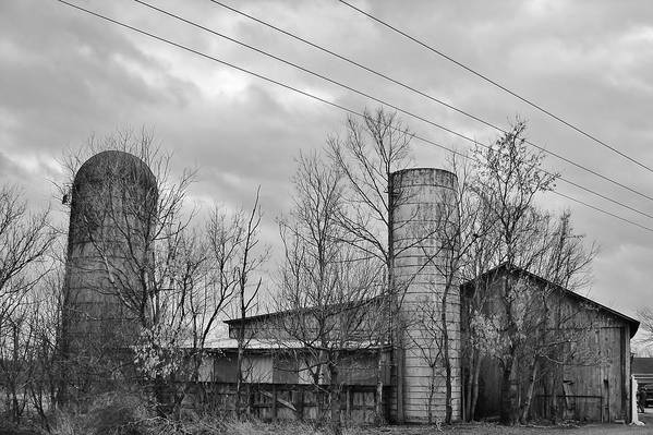 Black Art Print featuring the photograph Ohio Farm by Rancher's Eye Photography