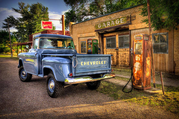 Chevrolet Art Print featuring the photograph Ol Chevrolet by Ryan Smith