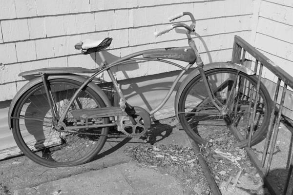 Old Art Print featuring the photograph Old Bike by Juliano Da silva