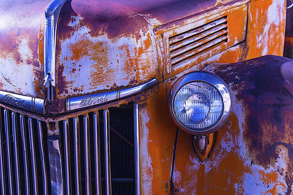 Truck Art Print featuring the photograph Old Ford Pickup by Garry Gay