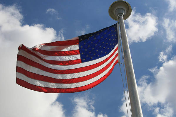 Flag Art Print featuring the photograph Old Glory 2 by Bob Gardner