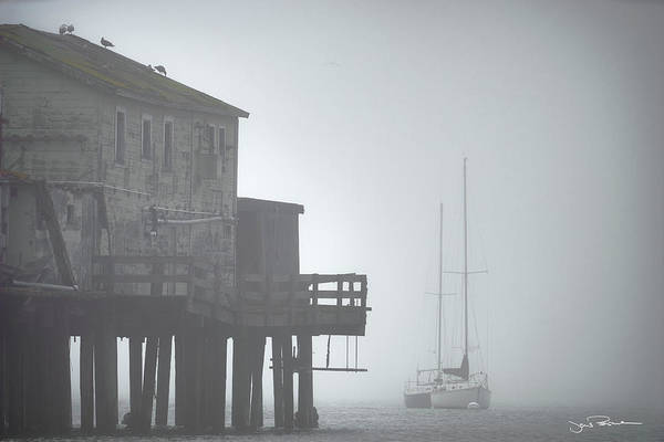 Boat Art Print featuring the photograph Old House On The Pier by Jens Peermann