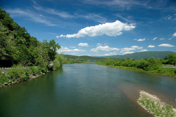 Landscape Art Print featuring the photograph Old Man River by Steve Kenney