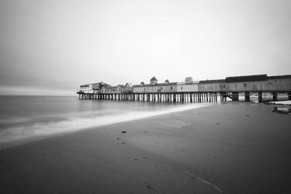 Old Orchard Beach Art Print featuring the photograph Old Orchard Beach Pier by Eric Gendron