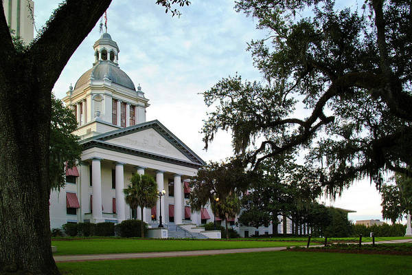 Color Photograph Art Print featuring the photograph Old State Capitol by Wayne Denmark
