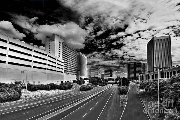 Downtown Art Print featuring the photograph On The Expressway by Tim Wilson