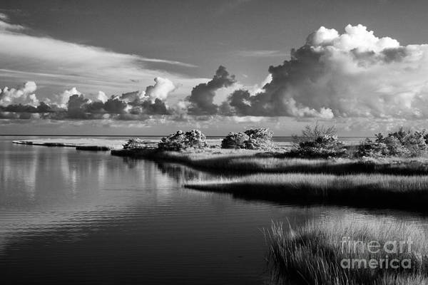 North Carolina Art Print featuring the photograph On The Sound Side by Dan Carmichael
