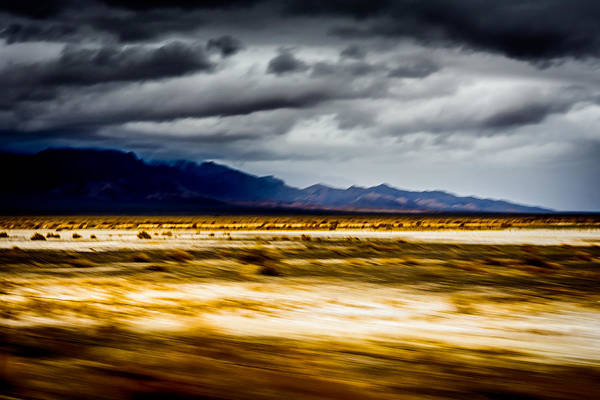 California Art Print featuring the photograph On The Way To Death Valley by Smadar Sonya Strauss