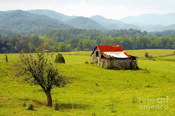 Farm Art Print featuring the photograph Once Upon A Time by David Lee Thompson