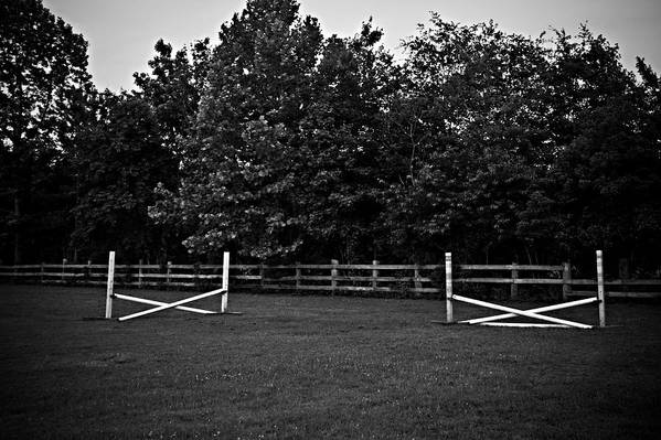 Fences Art Print featuring the photograph Once Upon A Time by Hannah Breidenbach