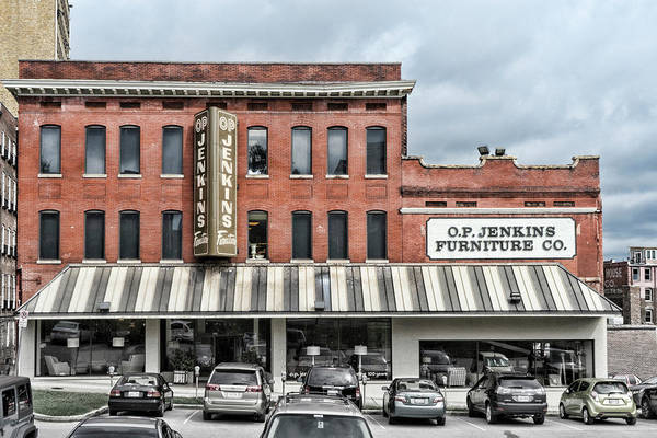 Knoxville Art Print featuring the photograph Op Jenkins Sign by Sharon Popek