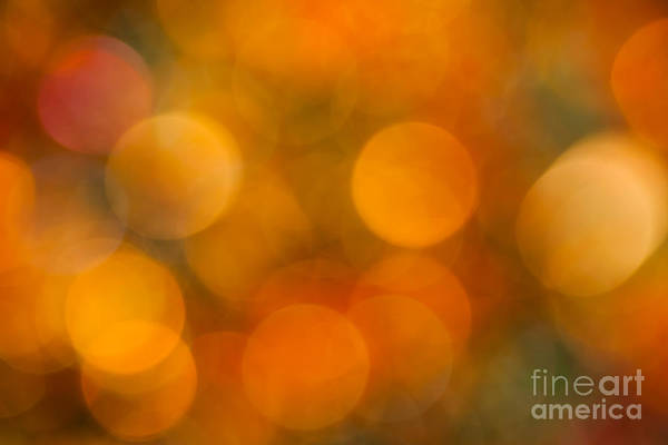 Abstract Art Print featuring the photograph Orange Peel by Jan Bickerton