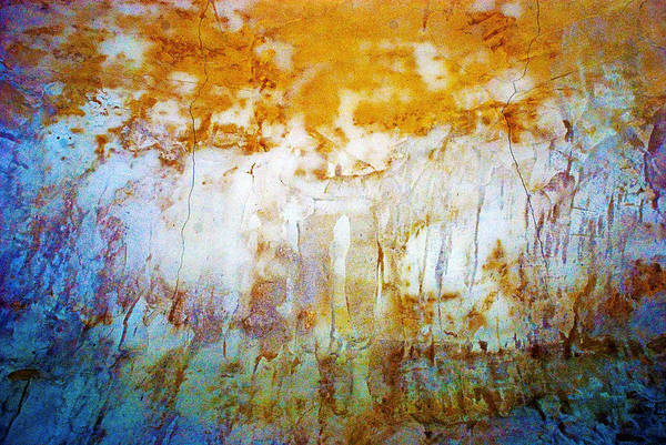Abstract Art Print featuring the photograph Orange Rim by Carl Ellis