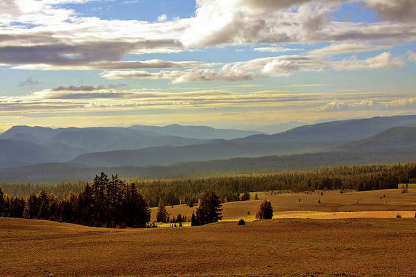 Overlooking Art Print featuring the photograph Oregon - Land Of The Setting Sun by Christine Till