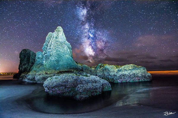 Landscape Art Print featuring the photograph Oregon Coast Magic by Russell Wells