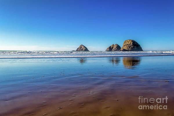 Jon Burch Art Print featuring the photograph Oregons Rocky Coast by Jon Burch Photography