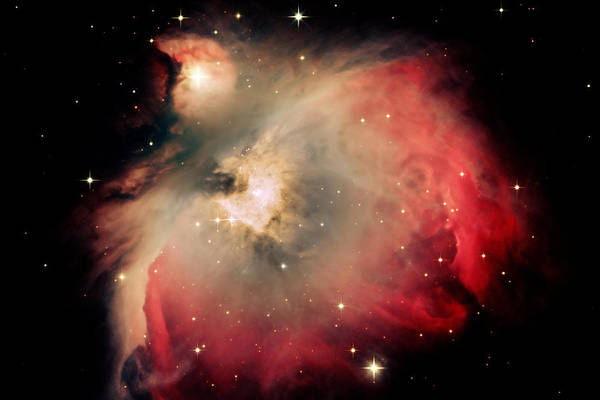 Star Art Print featuring the photograph Orion Nebula Redux by Jim DeLillo