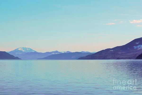 Lake Art Print featuring the photograph Other Side Of The Lake by Victor K