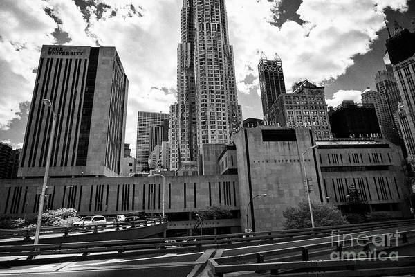 Pace Art Print featuring the photograph pace university campus New York City USA by Joe Fox