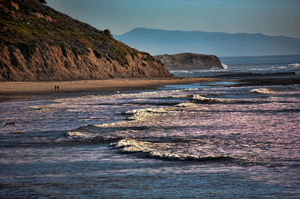 California Art Print featuring the photograph Pacific Ocean I by Chuck Kuhn