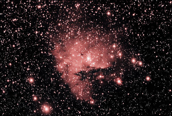 Astrophotography Art Print featuring the photograph Pacman by Jim DeLillo
