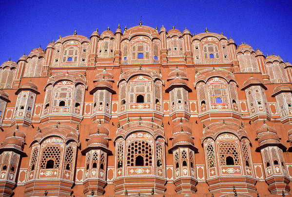 India Art Print featuring the photograph Palace Of The Wind by Michele Burgess