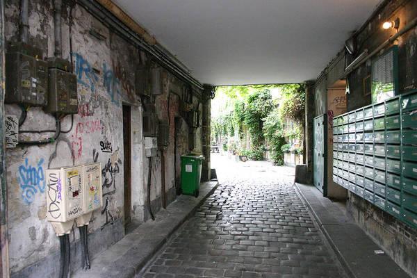 Art Print featuring the photograph Paris - Alley 2 by Jennifer McDuffie