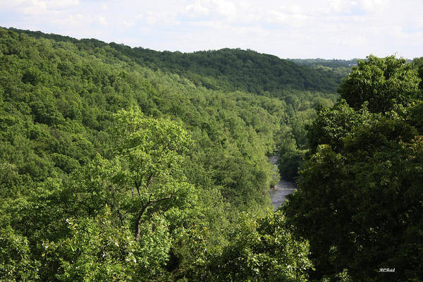Maryland Art Print featuring the photograph Patapsco Valley State Park - Overlook by Ronald Reid