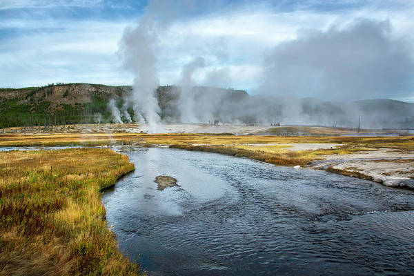 Yellowstone Art Print featuring the photograph Peaceful River by Scott Read
