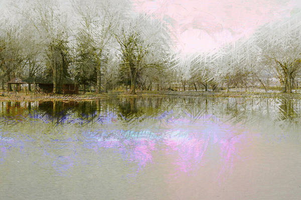 Landscape Art Print featuring the photograph Peaceful Serenity by Julie Lueders