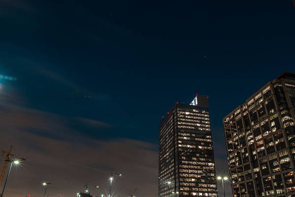 Houston Art Print featuring the photograph Peaceful Sky by Joshua Blake