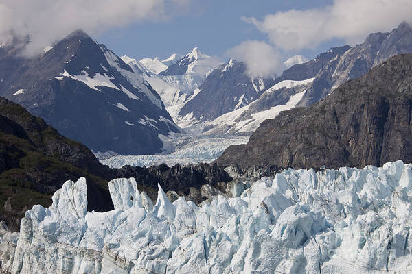 Alaska Art Print featuring the photograph Perfect Day At Margerie Glacier by Stan and Anne Foster