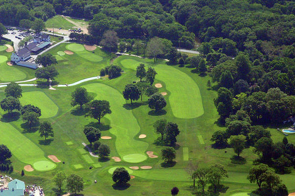 Philadelphia Cricket Club Art Print featuring the photograph Philadelphia Cricket Club Wissahickon Golf Course 1st And 18th Holes by Duncan Pearson