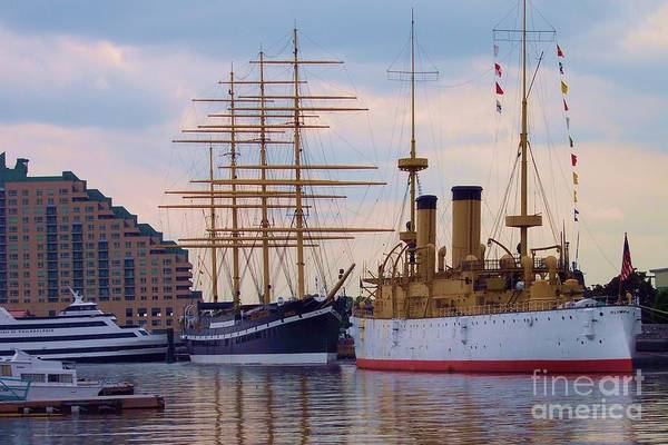 Philadelphia Art Print featuring the photograph Philadelphia Waterfront Olympia by Debbi Granruth