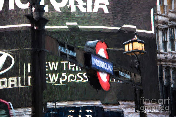 Piccadilly Art Print featuring the digital art Piccadilly by Roger Lighterness