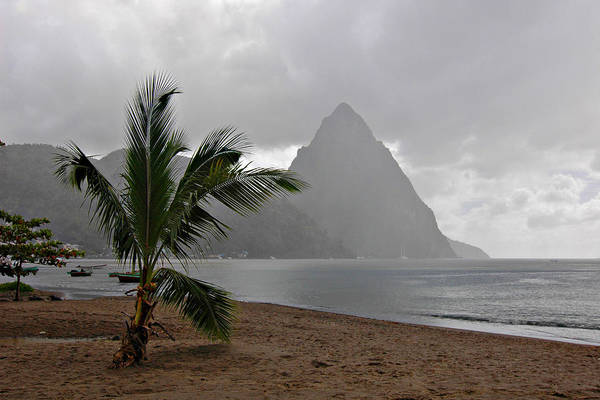 St. Lucia Art Print featuring the photograph Pitons - St. Lucia by J R Baldini