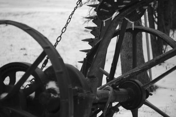 Machinery Art Print featuring the photograph Plow by Peter McIntosh