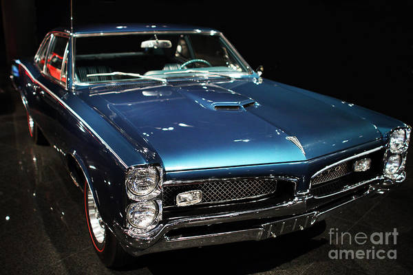 Transportation Print featuring the photograph Pontiac Gto 2 by Wingsdomain Art and Photography