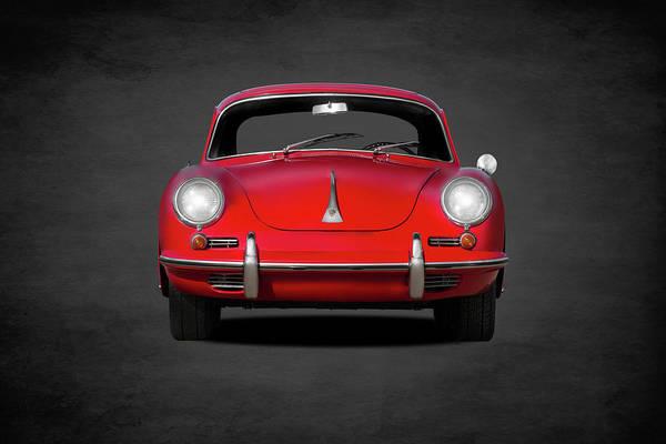 Porsche Art Print featuring the photograph Porsche 356 by Mark Rogan
